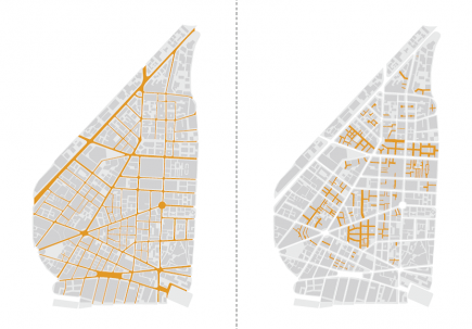 "<a class=""fancybox"" rel=""gallery-images"" href=""http://passageways.clustermappinginitiative.org/sites/default/files/styles/largest/public/streets_vs_passageways_0.png?itok=pqA3B8y2"" title=""Street network versus Passageway network"">Enlarge</a><br >Street network versus Passageway network"